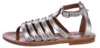 K Jacques St Tropez Agopos Metallic Sandals