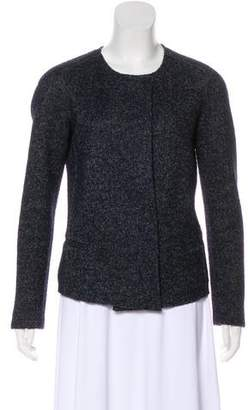 Etoile Isabel Marant Collarless Wool Cardigan