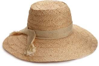 Hat Attack Women's Raffia Braid Lampshade Hat