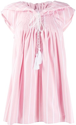 Thierry Colson striped day dress