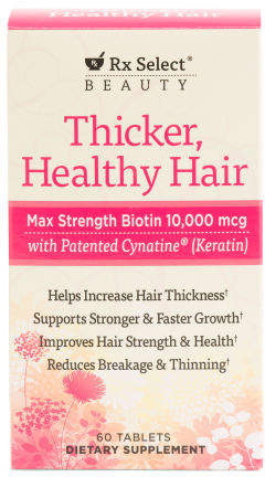 60count Thicker Fuller Hair Supplements