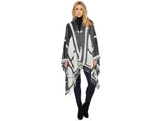 Michael Stars Geo Ruana Women's Coat