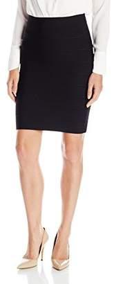 BCBGMAXAZRIA Women's Alexa Bandage Skirt