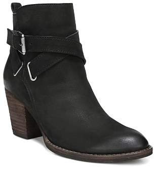 4c5ff80d2f11 ... Free Shipping at Bloomingdale s · Sam Edelman Women s Morris Almond Toe  Leather Mid-Heel Booties