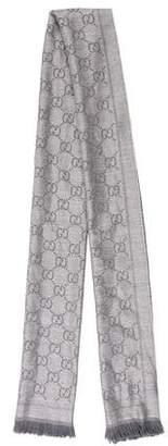 Gucci GG Knit Scarf