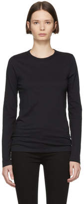 Rag & Bone Black The Long Sleeve T-Shirt
