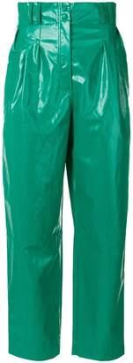 Philosophy di Lorenzo Serafini high-waisted wide leg trousers