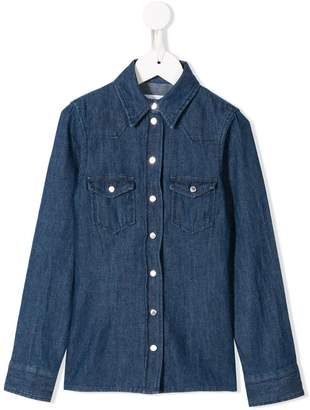 Dondup Kids long-sleeve denim shirt