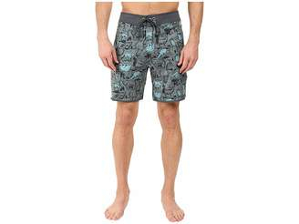 The North Face Whitecap Boardshorts - Short (Laurel Wreath Green Wildlife Print