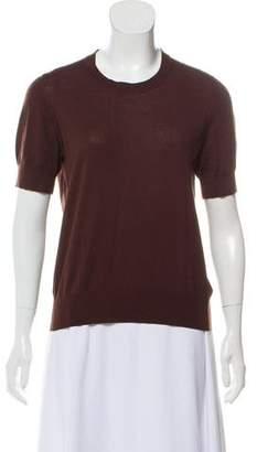 TSE Cashmere Short Sleeve Top