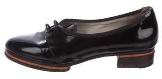 Jason Wu Patent Leather Round-Toe Oxfords