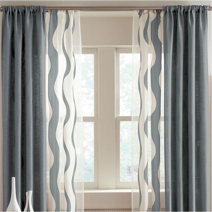 Studio StudioTM Nolita Solid Rod-Pocket Curtain Panel