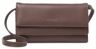Matt & Nat May Vegan Leather Flapover Wallet Crossbody Bag