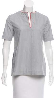 Kule Striped Short Sleeve Top w/ Tags