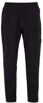 Stone Island - Ghost Stretch Nylon Cargo Trousers - Mens - Black