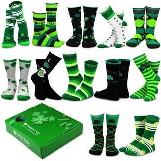 TeeHee Socks TeeHee Special (Holiday) 12-Pairs Socks with Gift Box. (10-13, )