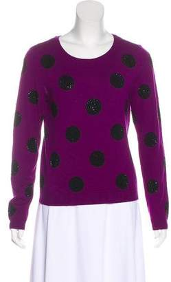 Alice + Olivia Embellished Wool Sweater