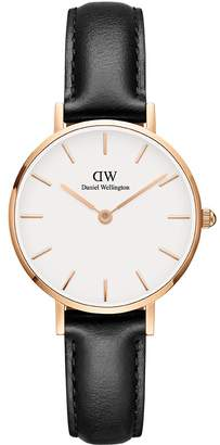 Daniel Wellington Women's DW00100230 Classic Petite Sheffield in White 28mm Watch