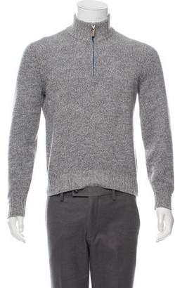Brunello Cucinelli Half-Zip Cashmere Sweater