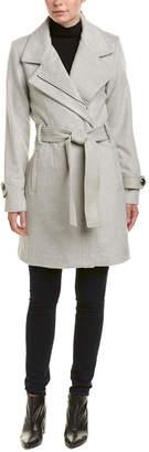 Badgley Mischka Wool-Blend Coat With $10 Credit