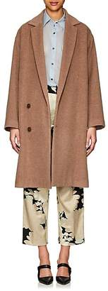 Pas De Calais Women's Brushed Wool-Alpaca Cocoon Coat - Camel
