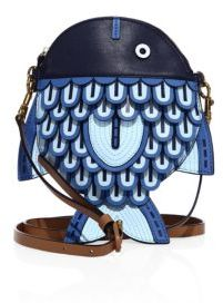 Tory Burch Tory Burch Fish Leather Crossbody Bag