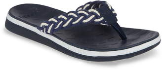 Sperry Adriatic Braided Flip Flop