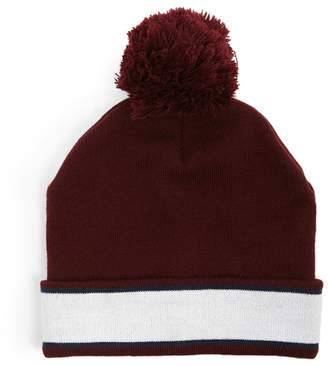 Forever 21 Striped Ribbed Beanie