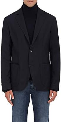 Luciano Barbera Men's Reversible Worsted Wool Two-Button Sportcoat $1,425 thestylecure.com