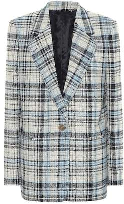 Acne Studios Checked wool-blend blazer