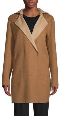 Akris Punto Cashmere Long Hooded Jacket