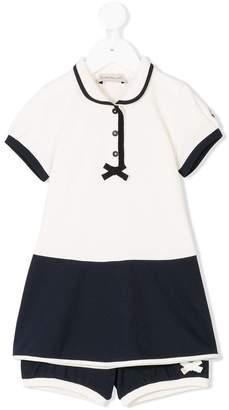 Moncler dress and shorts set