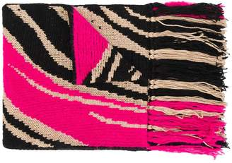 Just Cavalli knitted scarf