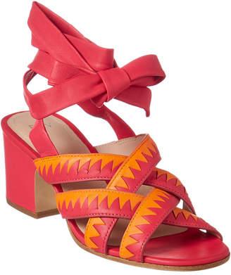 Pour La Victoire Anisa Leather Sandal