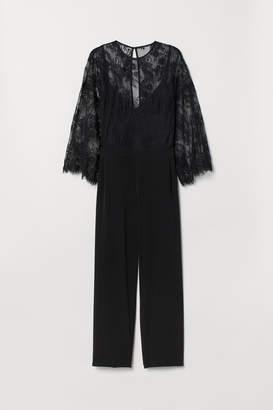 H&M H&M+ Jumpsuit with lace
