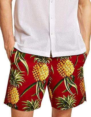 Topman Pineapple Pull On Shorts
