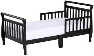 Dream On Me Toddler Sleigh Bed with Safety Rails