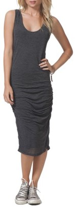 Women's Rip Curl Premium Surf Ruched Dress $44 thestylecure.com
