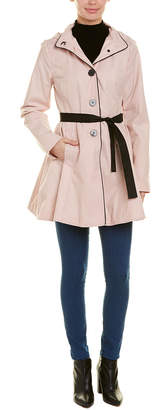 Laundry by Shelli Segal Single-Breasted Trench Coat