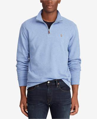 Polo Ralph Lauren Men's Estate-Rib Mock-Neck Pullover