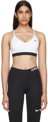Nike White Indy Bra
