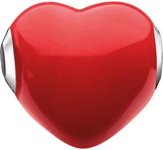 Thomas Sabo Glass Heart sterling silver karma bead