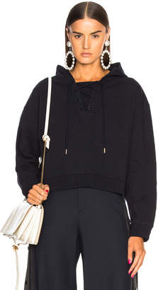 Stella McCartney Sports Graphic Hooded Sweatshirt