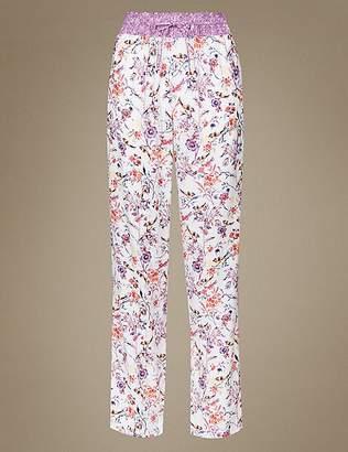 Marks and Spencer Floral Print Pyjama Bottoms