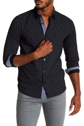 Coastal Printed Harris Modern Fit Shirt