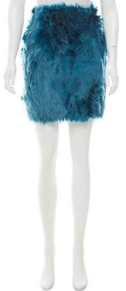 Dolce & Gabbana Alpaca Mini Skirt