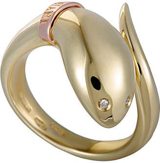 Damiani 18K Two-Tone Diamond Ring