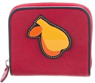 Miu MiuMiu Miu Appliqué Compact Wallet