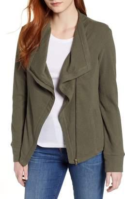 Caslon Knit Moto Jacket