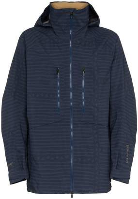 Burton Ak yurt stripe Gore-Tex hooded jacket